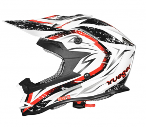Casque cross RK652 JUNIOR WHITE STORM