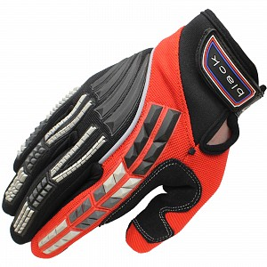 Gants de motocross Black Claw RED 5234-0206 GANTS DE MOTocross