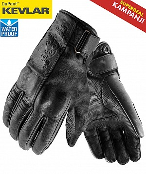 GANTS KEVLAR HIGHWAY WATERPROOF MC
