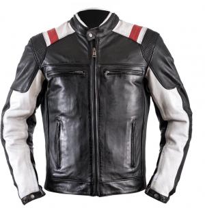 ATA ROADSTER CUSTOM BLACK veste en cuir mc 029
