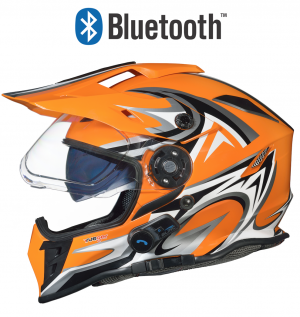 CASQUE BLINC BLUETOOTH RX-968C CROSS STEREO ORANGE