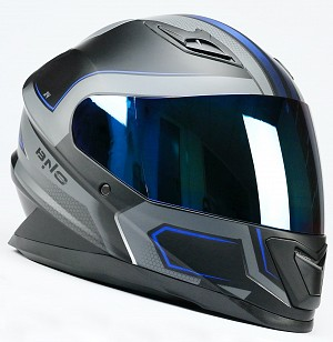 CASQUE BNO INTEGRAL X4 BLUE MATT MC