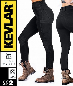 LADY V2 KEVLAR CARGO MC LEGGINGS