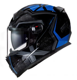 CASQUE BNO INTEGRAL-2 X BLUE GLOSS MC