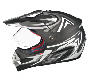 Casque cross RX962 QUAD ENDURO BLACK V