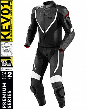 SUPPORT CUIR MOTO PREMIUM KEV01 WINDRIDER 2 PIÈCES