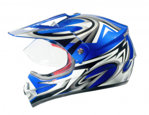 Casque cross RX962 QUAD ENDURO BLUE V