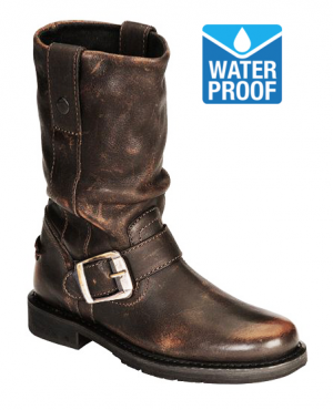 CHOPPER VINTAGE BROWN MC WATERPROOF MC BOOTS 6003