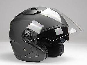 CASQUE BNO JET 300 MATT BLACK JET MC