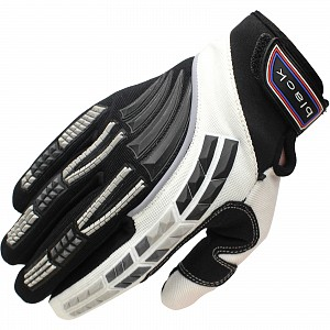 Gants de motocross Black Claw BLANC 5234-1006 GANTS DE MOTocross