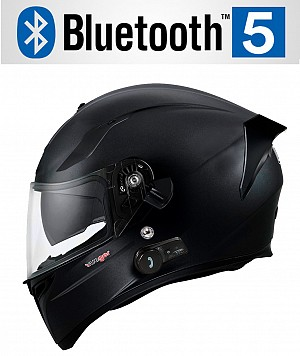 CASQUE BLUETOOTH FEATHERLIGHT NOIR MAT SV RT-826BL MC