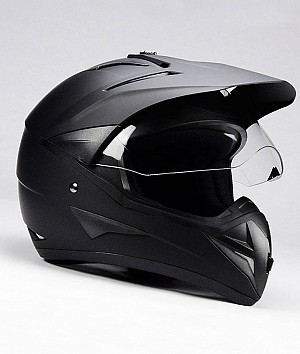 Casque cross BNO CROSS 1 MATT BLACK
