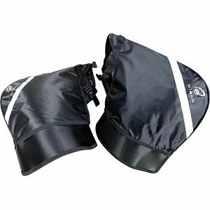 Réchauffeur de main 5126 manchon coupe-vent noir Meta Motorcycle Bar Muffs
