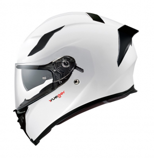 CASQUE FEATHERLIGHT RT-826 BLANC BRILLANT SOLVISIR INTEGRAL MC