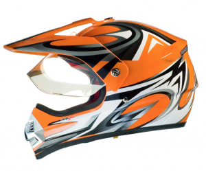 Casque cross RX962 QUAD ENDURO ORANGE V