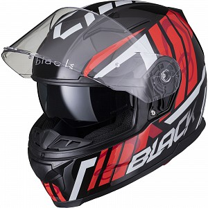 BLACK APEX FULL FACE Casque de moto GLOSS BLACK SOLVISIR 53051503