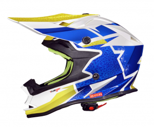 Casque cross RK652 JUNIOR ROCK BLUE