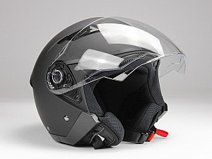 CASQUE BNO JET 200 MATT BLACK JET MC