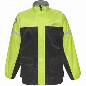 Veste de pluie imperméable à l'eau noire HI-VIS-2504 Spectre