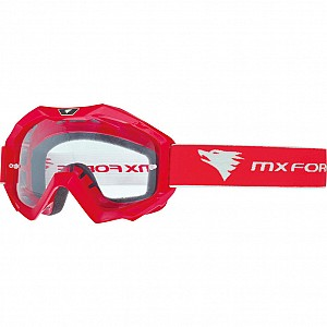 MX Force Magen Solide Motocross 14336-0200 Lunettes RED