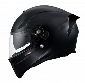 CASQUE FEATHERLIGHT RT-826 NOIR MAT SOLVISIR INTEGRAL MC