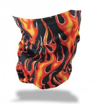 FOULARD MOTLEY TUBE FLAMES TUBE